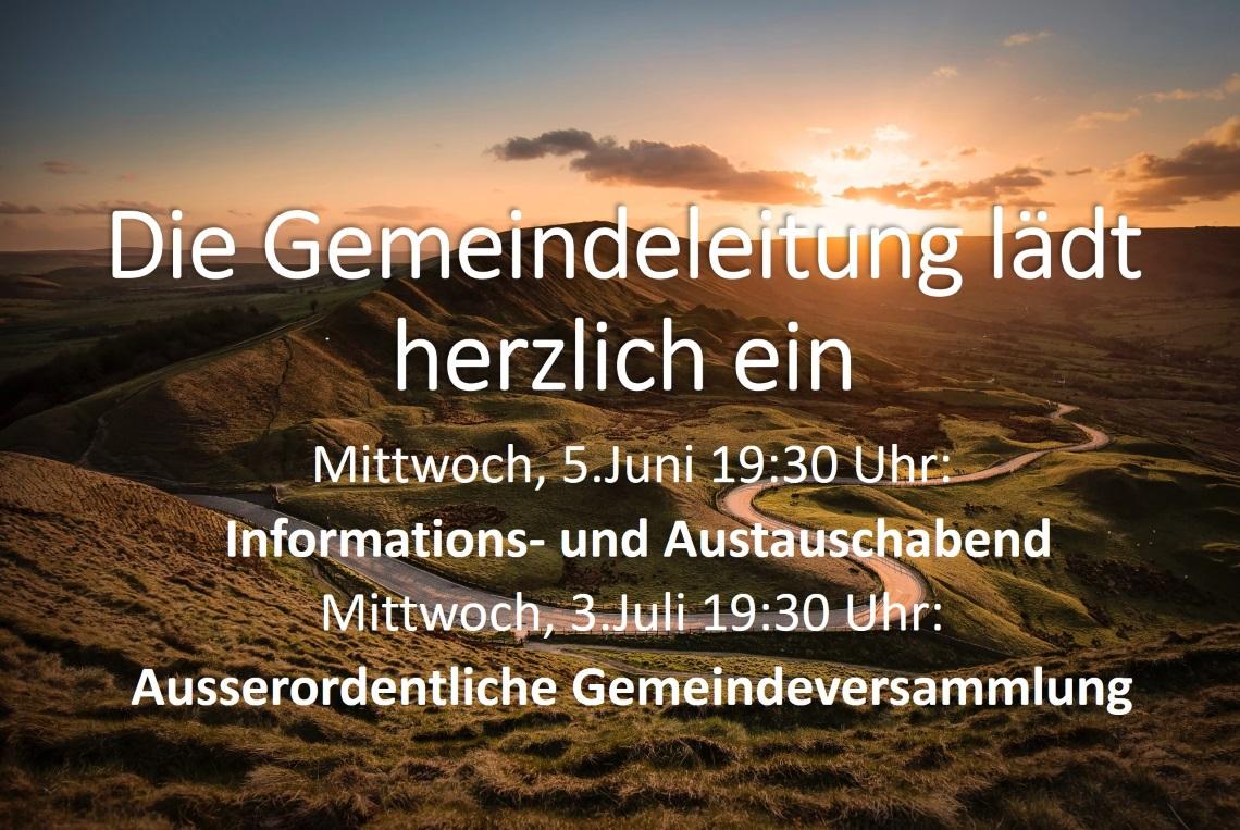 Informations- und Ausstauschabend